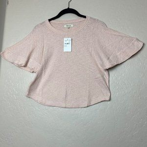 Madewell women's cropped top